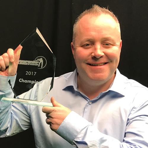 Higgins takes Championship League in double Ricoh joy