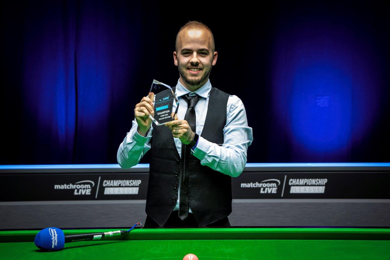 BRILLIANT BRECEL WINS MATCHROOM.LIVE CHAMPIONSHIP LEAGUE