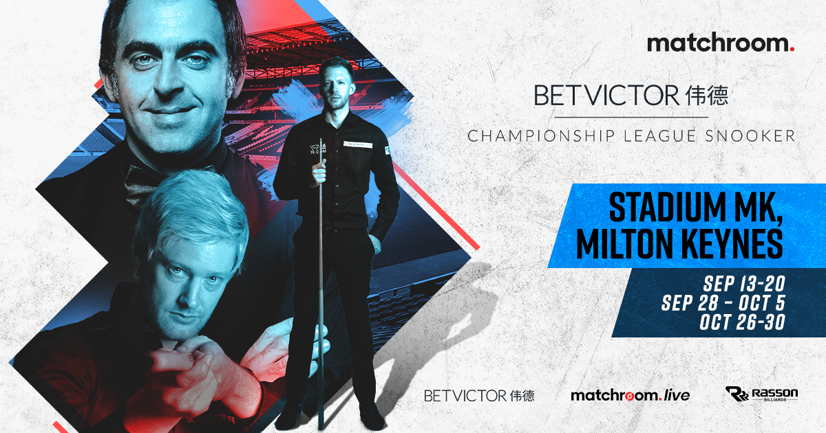 BETVICTOR TO TITLE SPONSOR CHAMPIONSHIP LEAGUE SNOOKER
