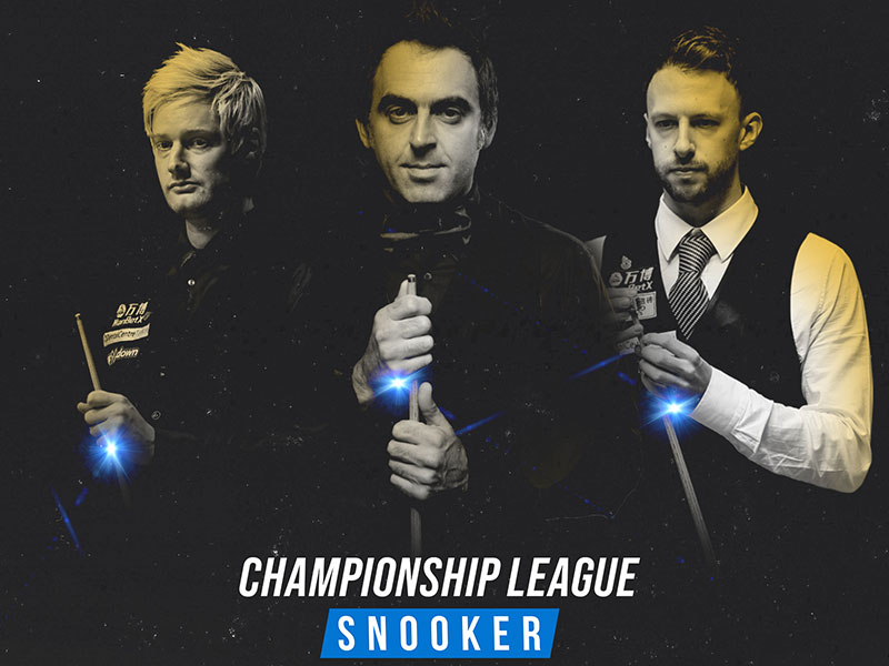 O'SULLIVAN & TRUMP AMONG ENTRIES AS CHAMPIONSHIP LEAGUE SNOOKER BECOMES A RANKING EVENT