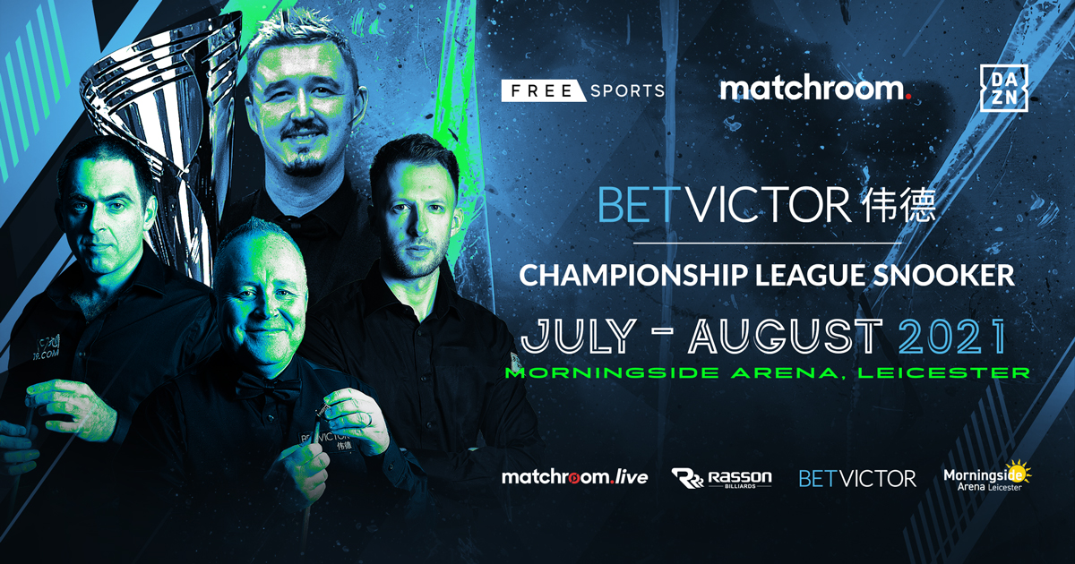BETVICTOR CONTINUE SPONSORSHIP OF CHAMPIONSHIP LEAGUE SNOOKER